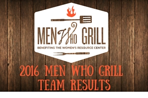 2016 Men Who Grill Team Results