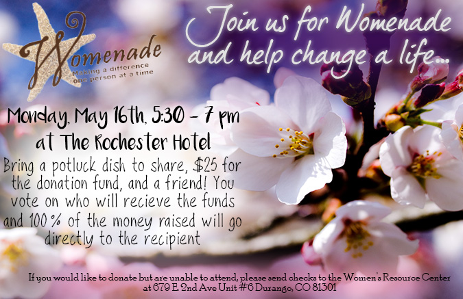 May Womenade Announcement