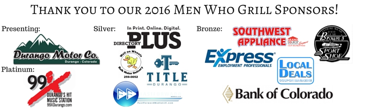 Thank you to our 2016 Men Who Grill Sponsors!