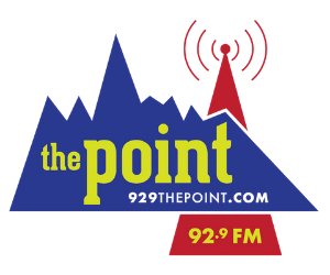 the Point logo web slider