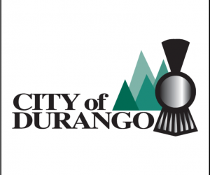 City of Durango logo w white box